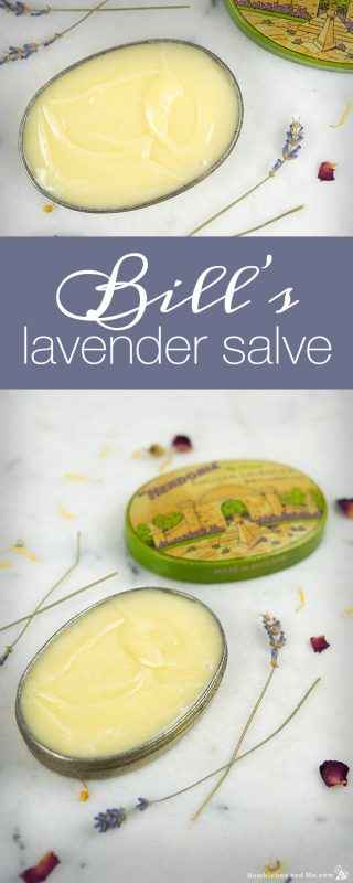 Bill's Lavender Salve