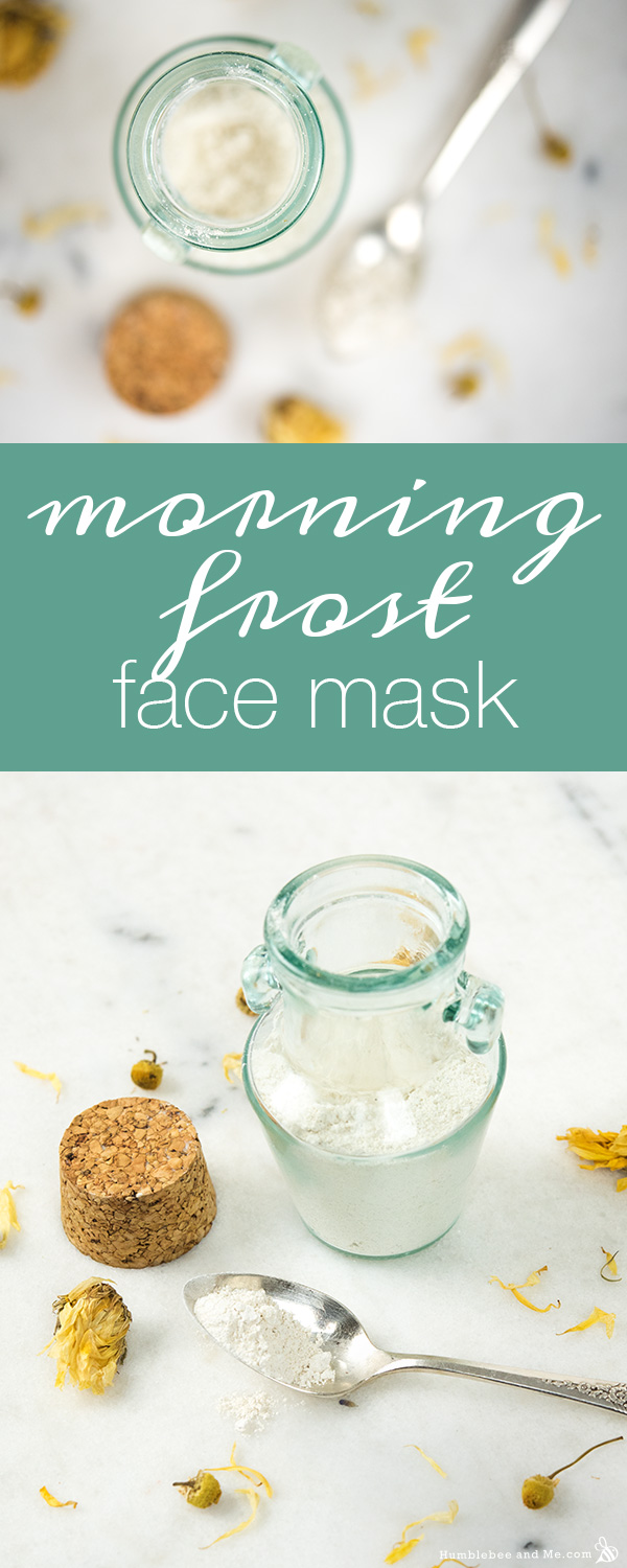 How to make a Morning Frost Face Mask