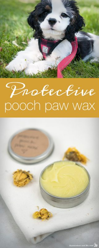 Protective Pooch Paw Wax