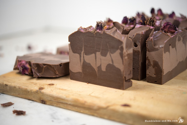 Мыло Шоколад и розы