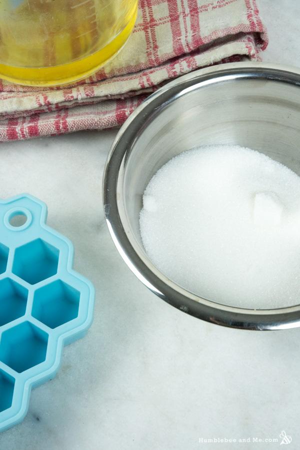 How to Make Chocolate Sugar Scrub Nuggets