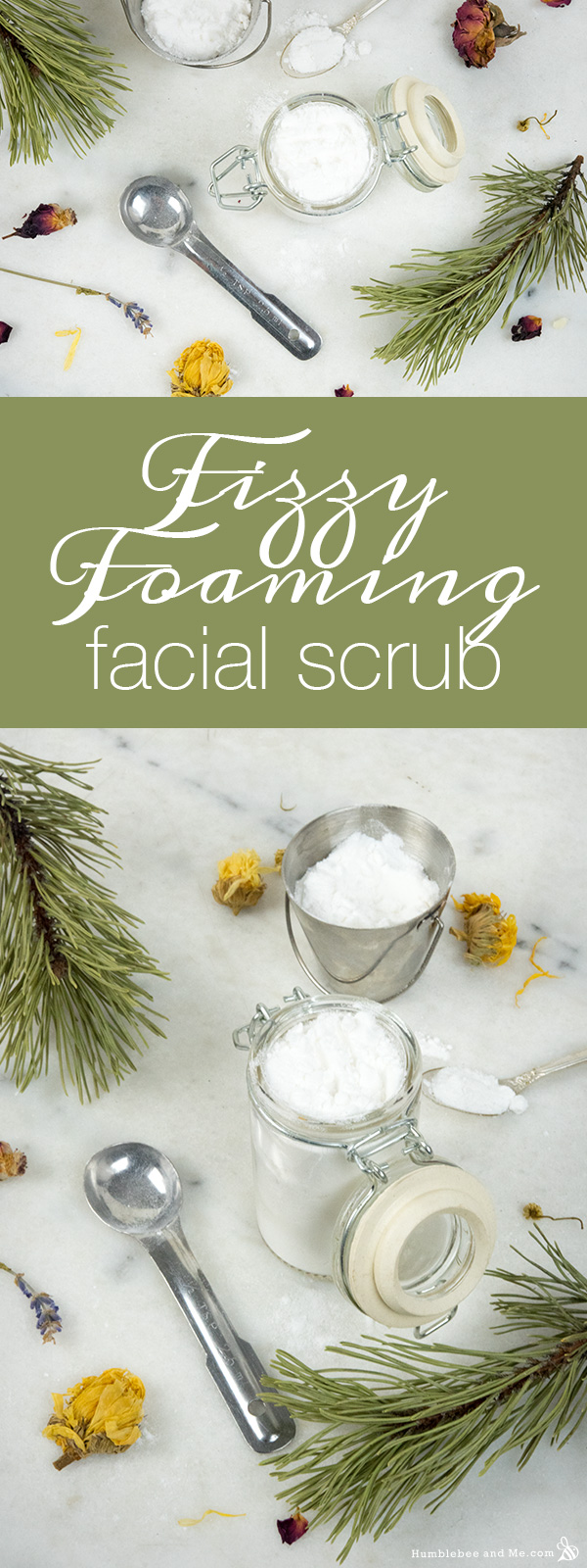 How to make a Fizzy Foaming Face Scrub