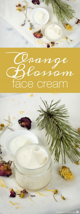 Orange Blossom Face Cream
