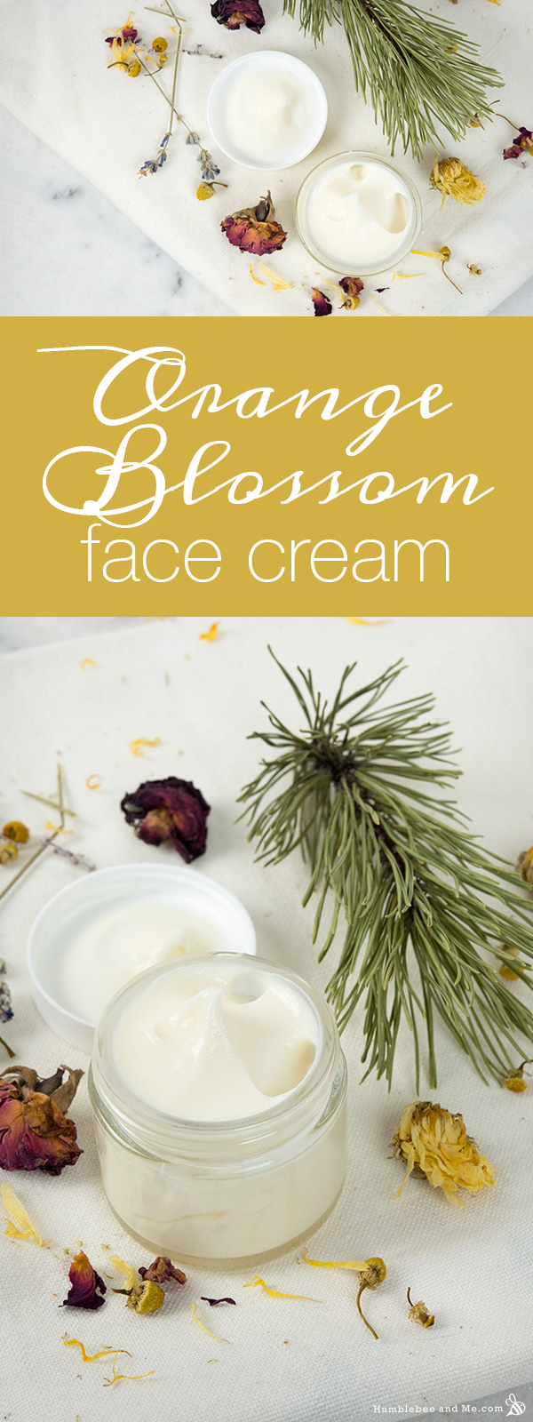 How to Make Orange Blossom Face Cream