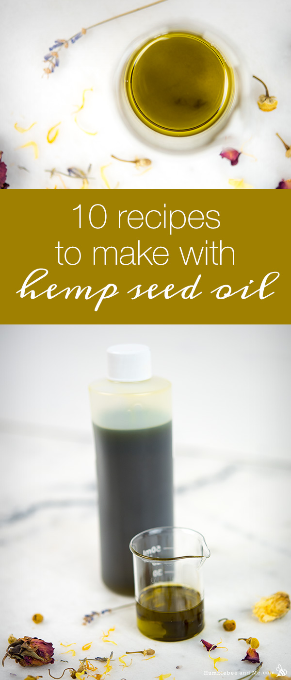 10 Recipes to Make with Hemp Seed Oil