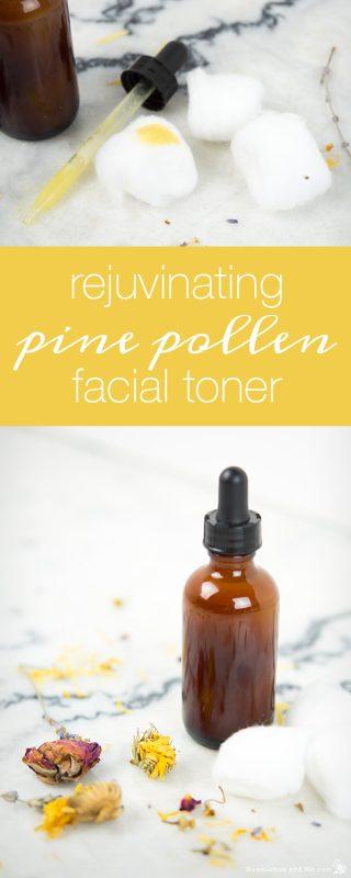 Rejuvenating Pine Pollen Facial Toner