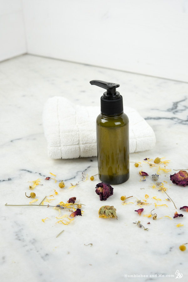 How to Make Gentle Chamomile Facial Cleanser