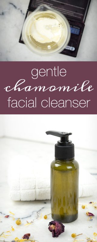 Gentle Chamomile Facial Cleanser