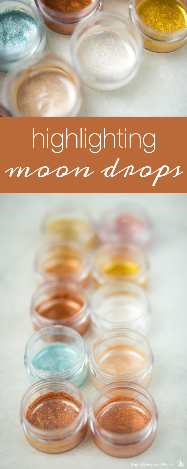 How to Make Highlighting Moon Drops