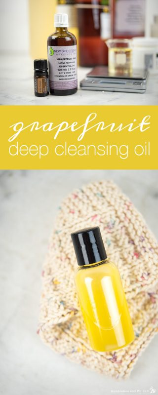 Grapefruit Deep Cleansing Oil