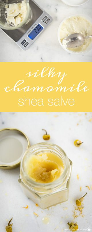 Silky Chamomile and Shea Salve