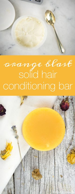 Orange Blast Solid Conditioner Bar