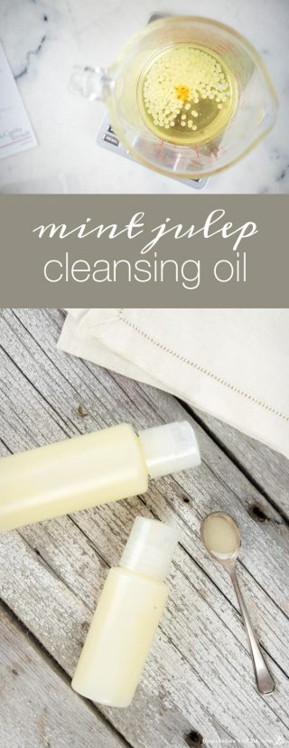 Mint Julep Cleansing Oil