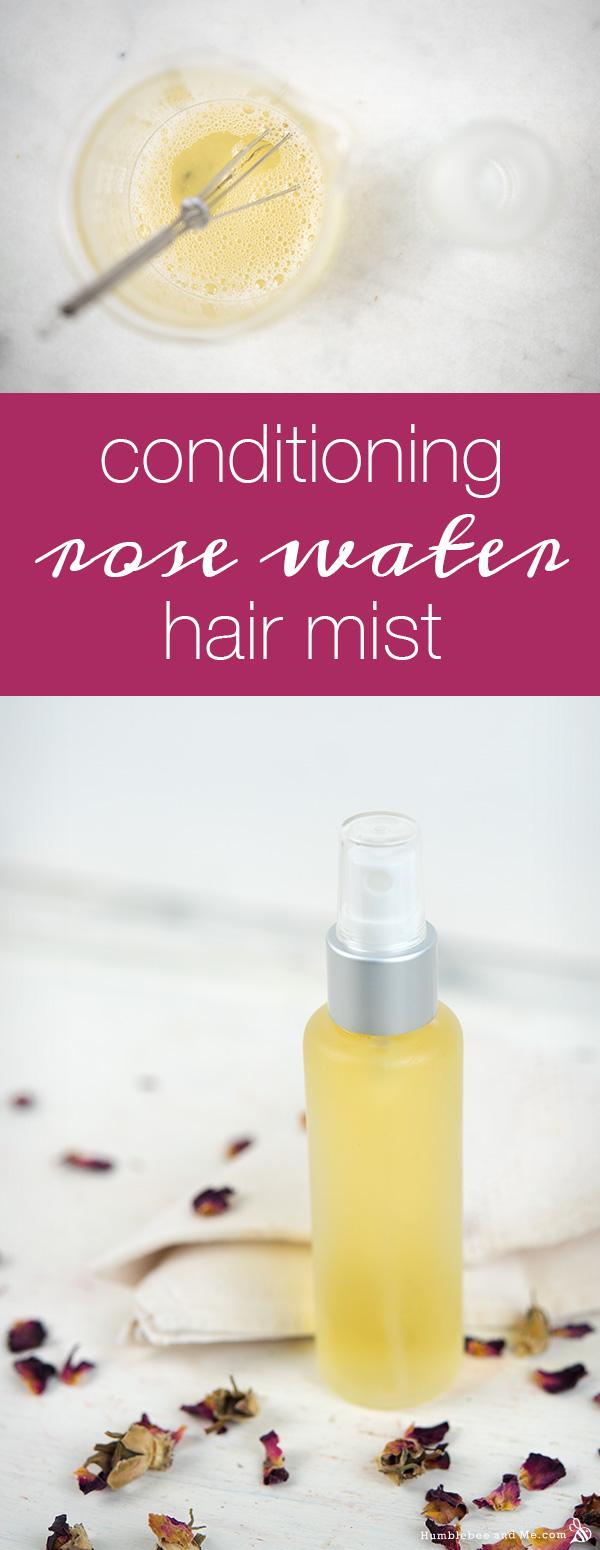 Кондиционер для волос с розовой водой