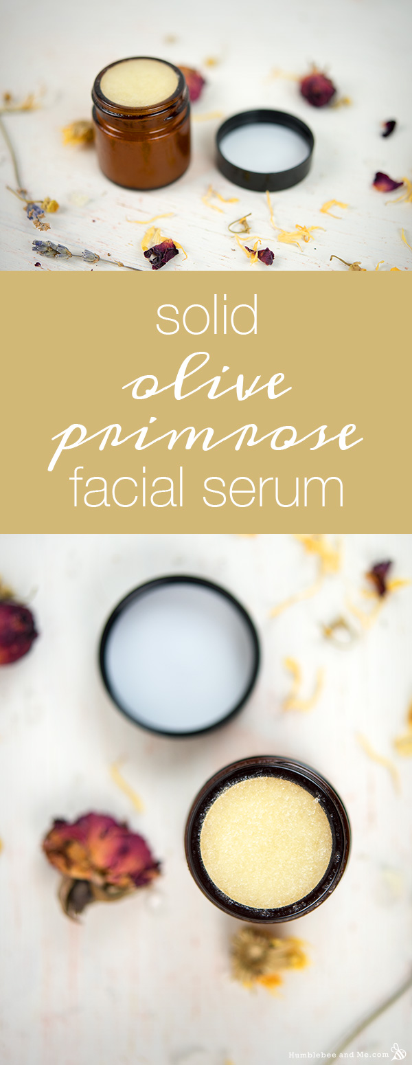How to Make a Solid Olive Primrose Facial Serum