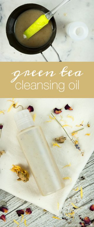 Green Tea Cleansing Oil