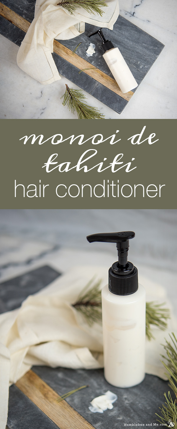 How to Make Monoi de Tahiti Hair Conditioner