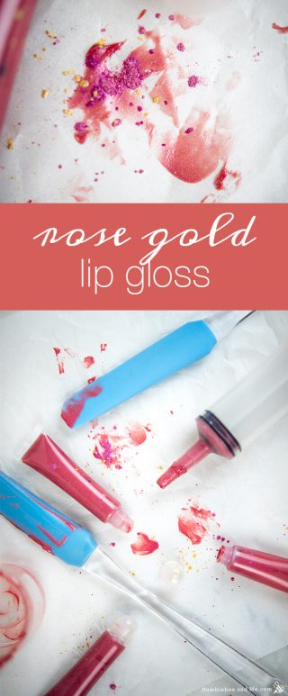Rose Gold Lip Gloss