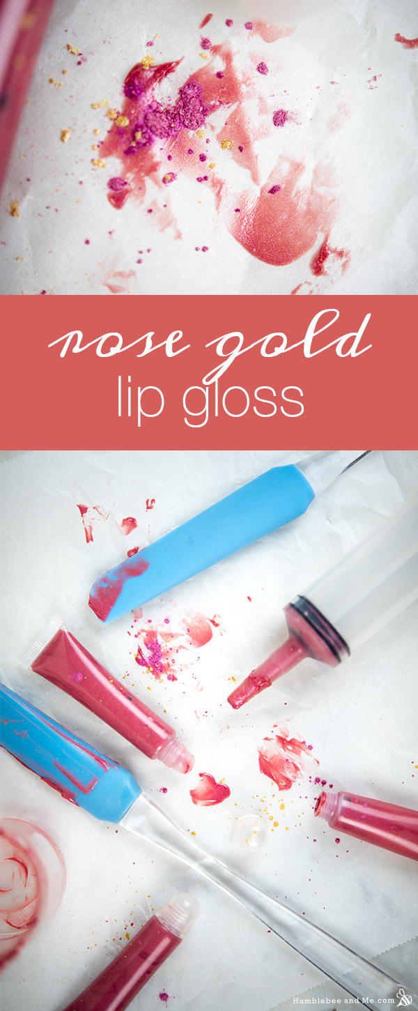 How to Make Rose Gold Lip Gloss