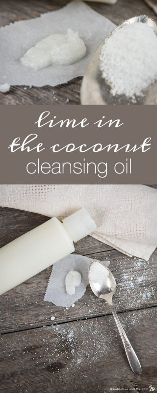 Lime in the Coconut Facial Cleansing Oil