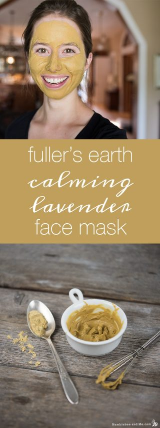 Fuller's Earth Calming Lavender Face Mask