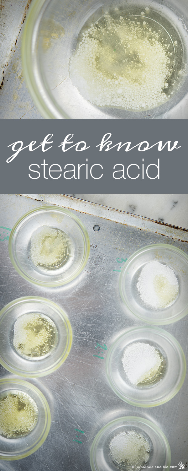 A Quick Guide to Stearic Acid and Liquid Oil Ratios