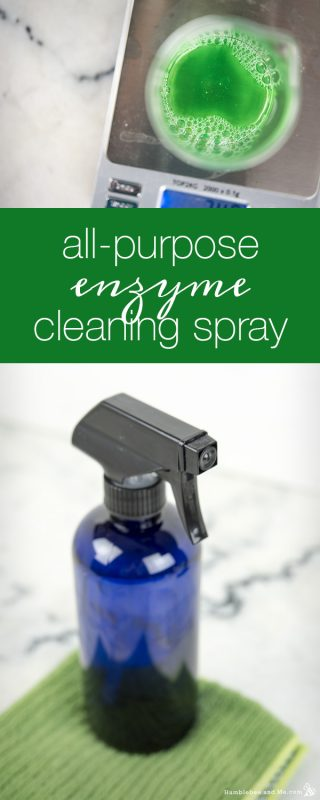 All-Purpose Enzyme Cleaning Spray