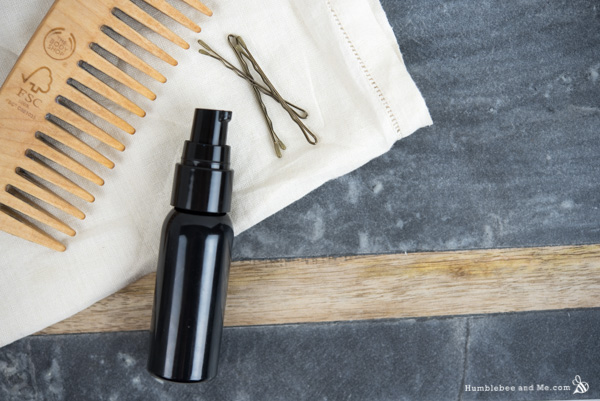 How to Make Silky Camellia Hair Serum
