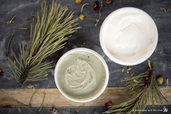 A handsome pairing—Forest Facial Lotion and Forest Cleansing Balm!