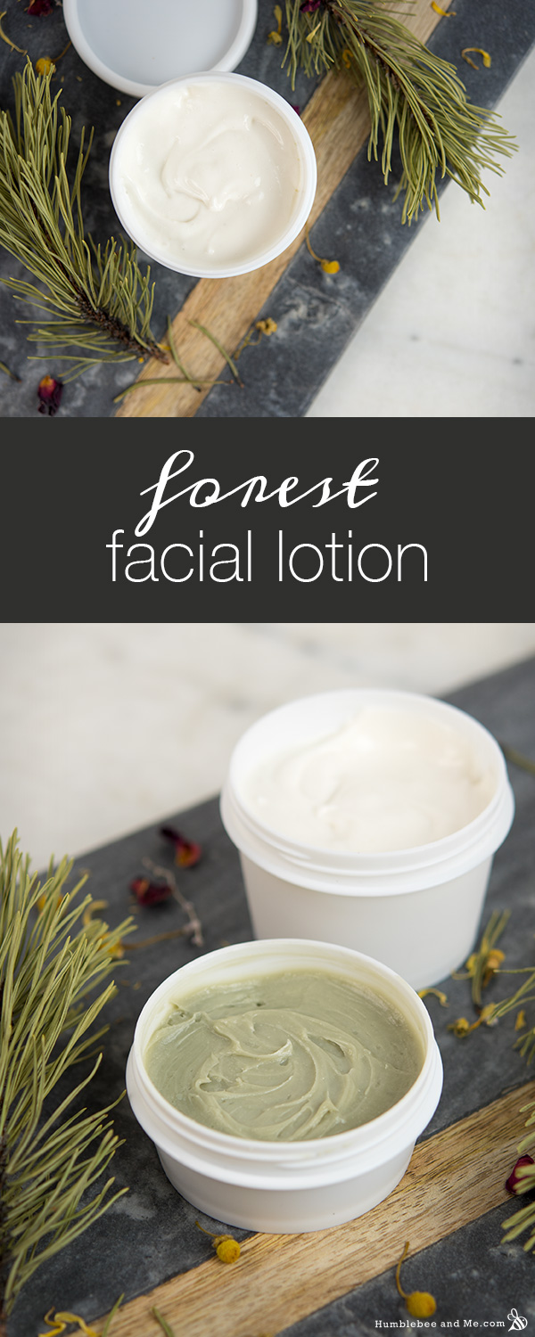 How to Make Forest Facial Lotion