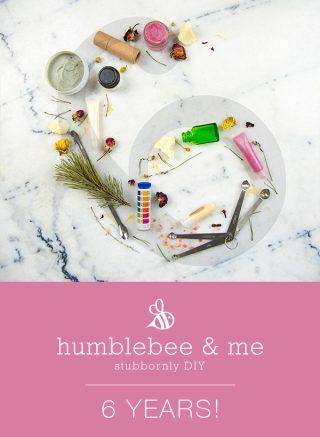 Humblebee & Me is 6!