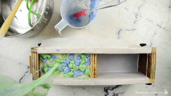 How to Make Minty Forest Soap