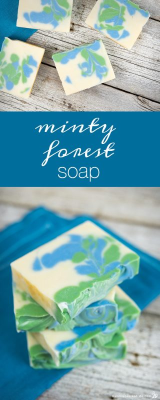 Minty Forest Soap