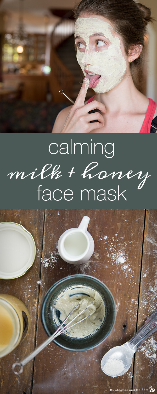 Calming Milk and Honey Face Mask