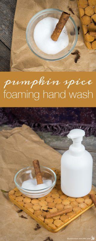 Pumpkin Spice Foaming Hand Wash