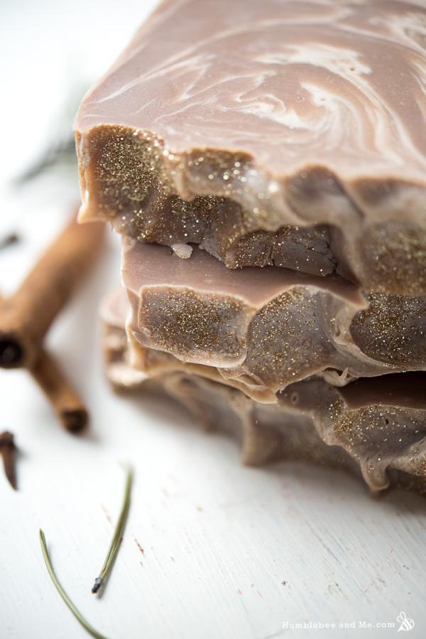 How to Make Vanilla Spice Christmas Soap