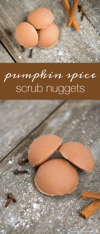 Pumpkin Spice Scrub Nuggets