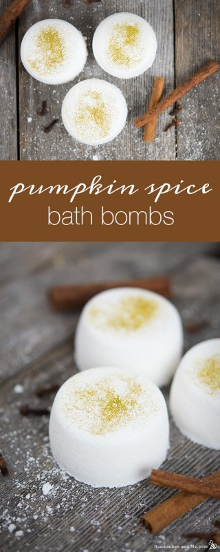 Pumpkin Spice Bath Bombs