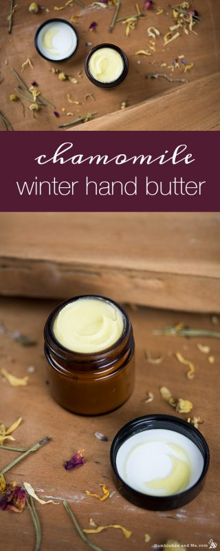 Chamomile Winter Hand Butter