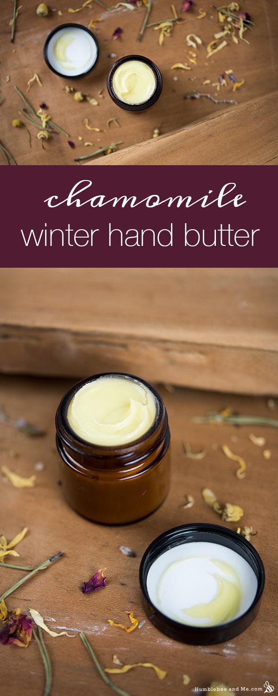 Зимнее масло для рук с ромашкой
