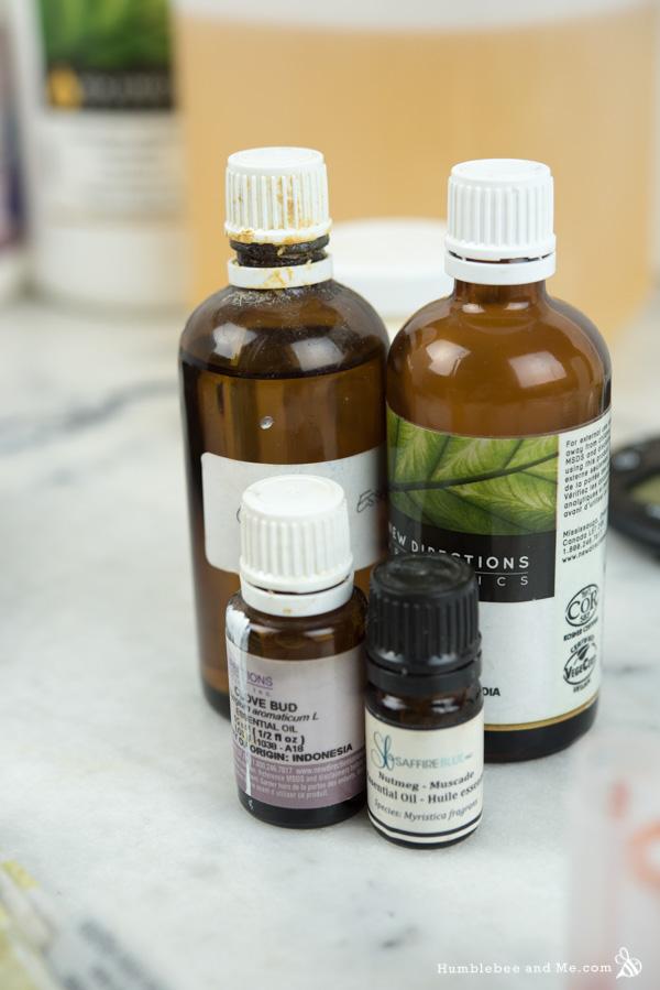 Ванильное масло для тела со специями