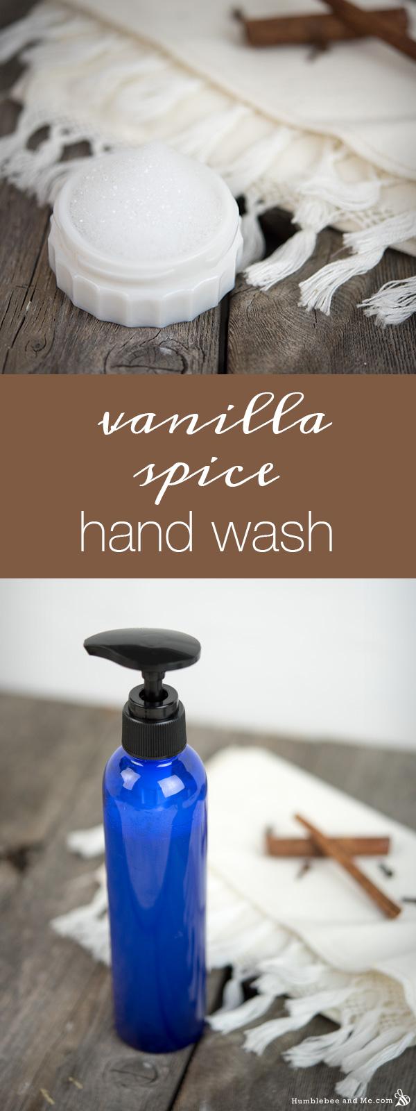 How to Make Vanilla Spice Hand Wash