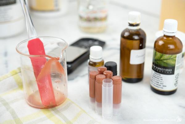 How to Make Vanilla Spice Vegan Lip Balm
