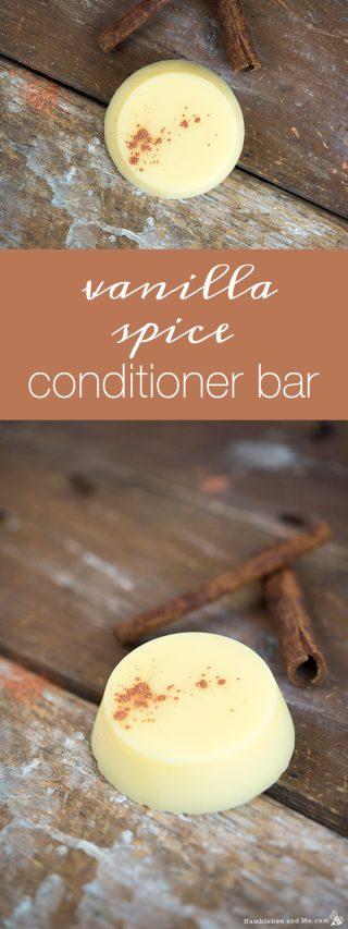Vanilla Spice Conditioner Bar