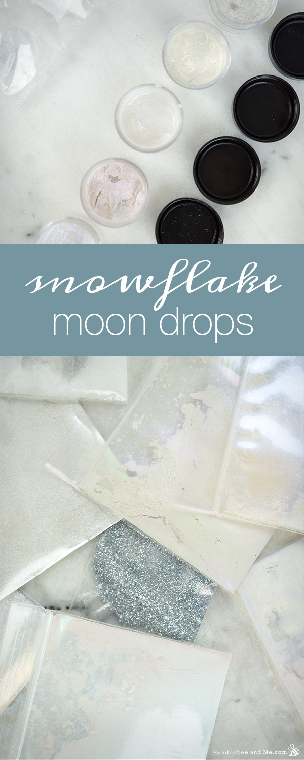 How to Make Snowflake Moon Drops