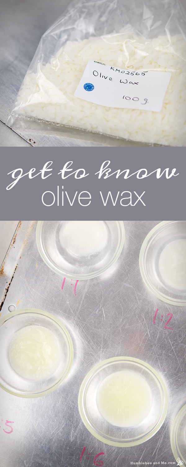 A Quick Guide to Olive Wax & Liquid Oil Ratios