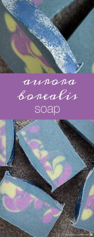 Aurora Borealis Soap