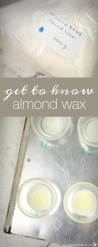 A Quick Guide to Almond Wax & Liquid Oil Ratios