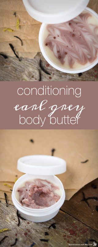 Conditioning Earl Grey Body Butter