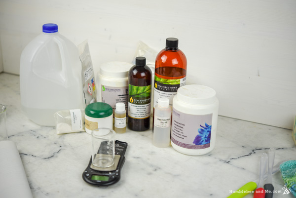 How to Make Lightweight Lavender Spruce Silk Lotion